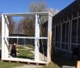 Montering af nye vinduespartier